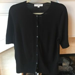 New LOFT Short Sleeve Sweater Size Large